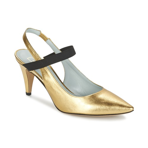 Shoes Women Heels Marc Jacobs VALERY Gold