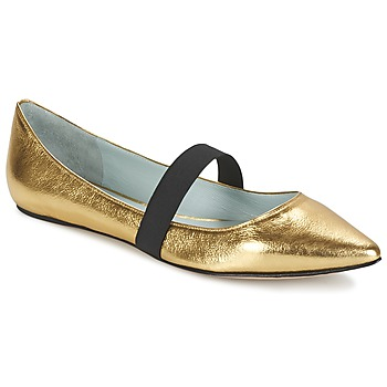 Shoes Women Flat shoes Marc Jacobs HALSEY GOLD