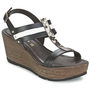 Shoes Women Sandals Café Noir LAPIBO Black