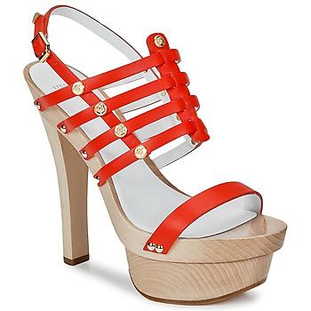 Shoes Women Sandals Versace DSL943T Red