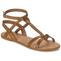 Shoes Women Sandals So Size BEALO Brown