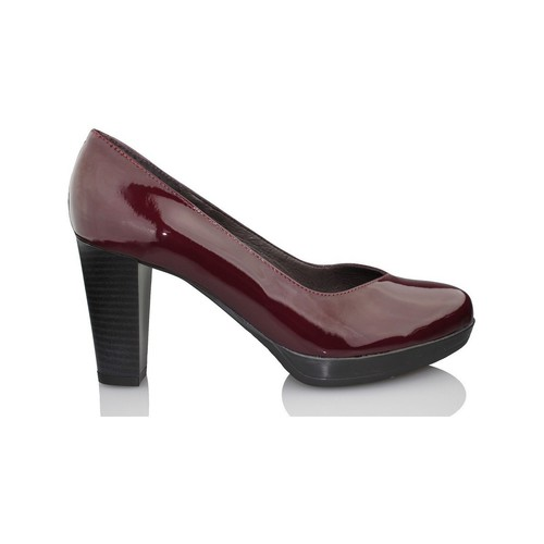Shoes Women Heels Kroc patent leather shoe BODEAUX