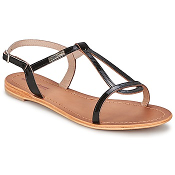 Shoes Women Sandals Les Tropéziennes par M Belarbi HAMESS VARNISH / Black