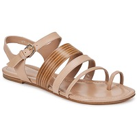 Shoes Women Sandals Hugo Boss Black PERNILLE Beige