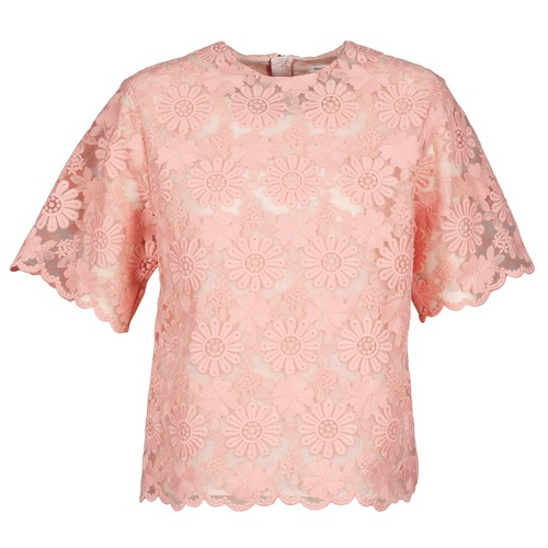 Clothing Women Tops / Blouses Manoush AFRICAN BLOUSE Coral