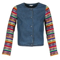 Clothing Women Jackets / Blazers Manoush INDIAN DENIM Blue