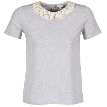 Clothing Women short-sleeved t-shirts Manoush T-SHIRT Grey
