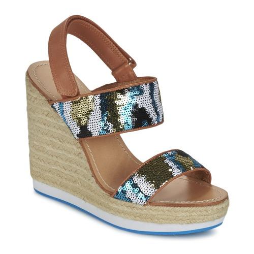 Shoes Women Sandals Mellow Yellow VABLISS Blue