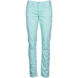 Clothing Women 5-pocket trousers Gant 410478 Grey