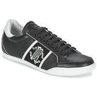 Shoes Men Low top trainers Roberto Cavalli 7779 Black