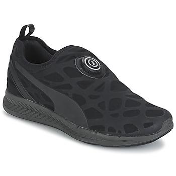Shoes Men Low top trainers Puma DISC SLEEVE IGNITE STR. FOAM Black