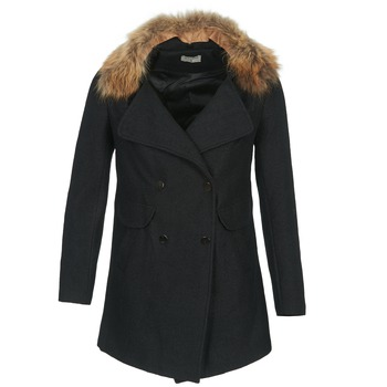 Clothing Women coats Betty London DEFIA Black