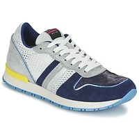 Shoes Women Low top trainers Serafini LOS ANGELES Blue / White