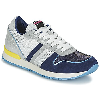 Shoes Women Low top trainers Serafini LOS ANGELES White / Blue