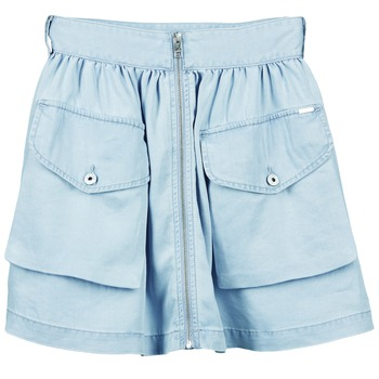 Clothing Women Skirts Diesel DE BODEN B Blue