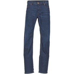 Clothing Men straight jeans Diesel WAYKEE Blue / Dark