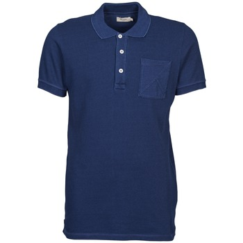 Clothing Men short-sleeved polo shirts Kulte DALLE Blue