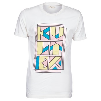 Clothing Men short-sleeved t-shirts Kulte ANATOLE BLOCK White