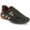 Shoes Men Low top trainers Geox SNAKE Grey