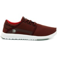 Low top trainers Etnies SCOUT  BURGUNDY