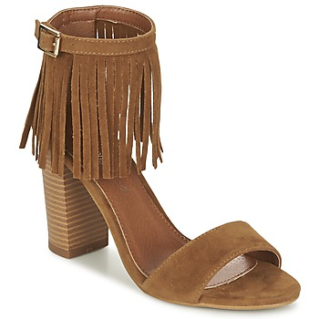 Shoes Women Sandals Moony Mood ERANDA Camel
