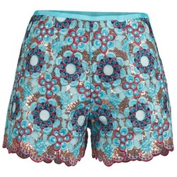 Clothing Women Shorts / Bermudas Manoush FRESQUE Multicoloured