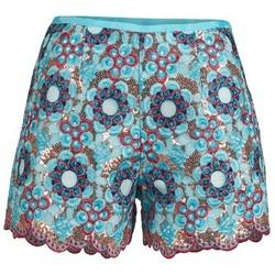 Clothing Women Shorts / Bermudas Manoush FRESQUE Blue