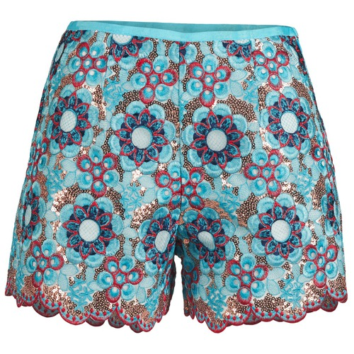 Clothing Women Shorts / Bermudas Manoush FRESQUE Blue