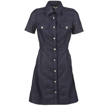 Clothing Women Short Dresses Manoush JEAN Blue