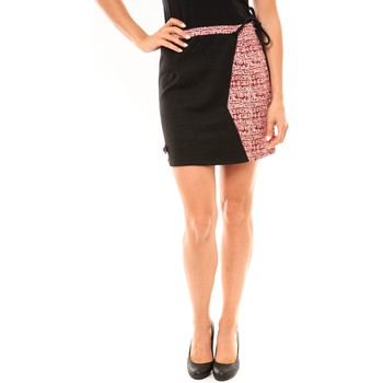 Clothing Women Skirts Bamboo's Fashion Jupe BW668 noir Black
