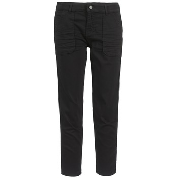 Clothing Women Cropped trousers Cimarron CLAUDIE Black