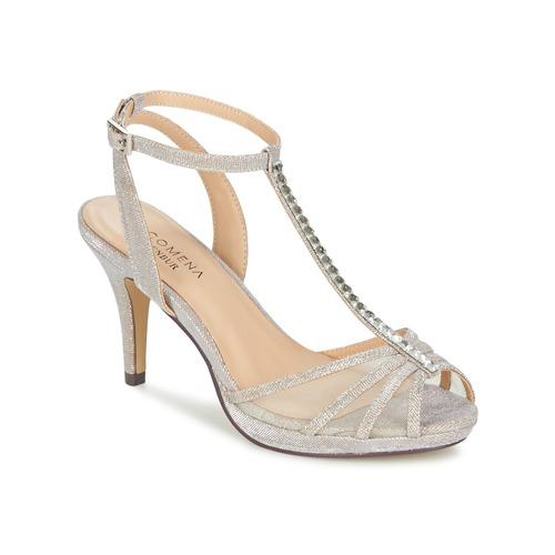 Shoes Women Sandals Menbur PALMA Sable / Iris