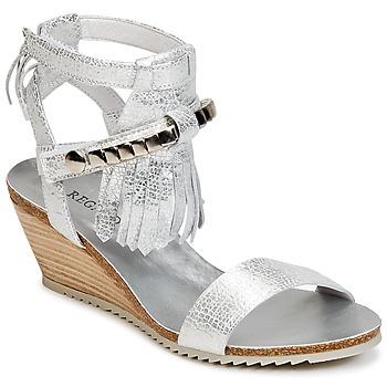 Shoes Women Sandals Regard RUKO Silver