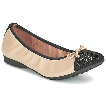Shoes Women Flat shoes Mam'Zelle NUPO BEIGE / Black