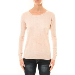 Clothing Women jumpers Nina Rocca Pull MC7033 rose poudré Pink
