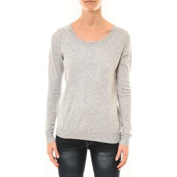 Clothing Women jumpers Nina Rocca Pull MC7033 gris Grey