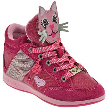 Shoes Children Hi top trainers Lelli Kelly Gattino Rosa