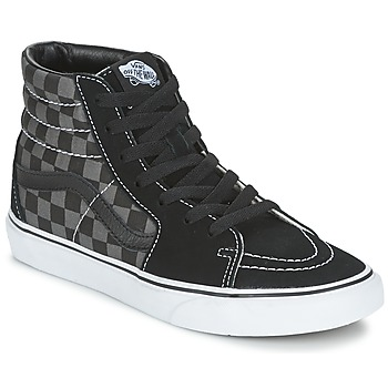 Shoes Hi top trainers Vans SK8-HI Black / Grey