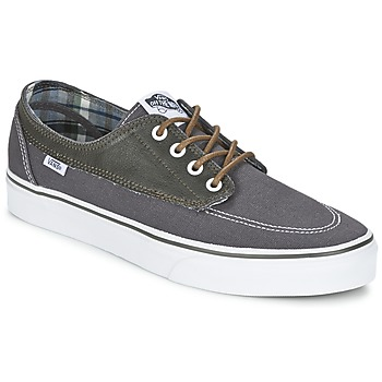 Shoes Men Low top trainers Vans BRIGATA Grey / Blue