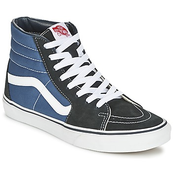 Shoes Men Hi top trainers Vans SK8-HI MARINE