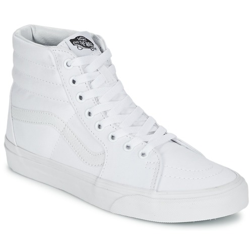 Shoes Hi top trainers Vans SK8-HI White