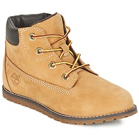 Shoes Children Mid boots Timberland POKEY PINE 6IN BOOT WITH Wheat