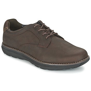 Shoes Men Derby Shoes Timberland BARRETT PT OXFORD Brown / Dark