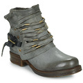 Shoes Women Mid boots Airstep / A.S.98 SAINT Black / Smoke