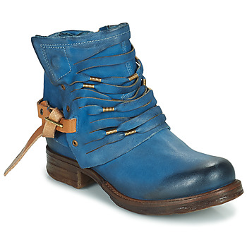 Shoes Women Mid boots Airstep / A.S.98 SAINT Blue / Duck