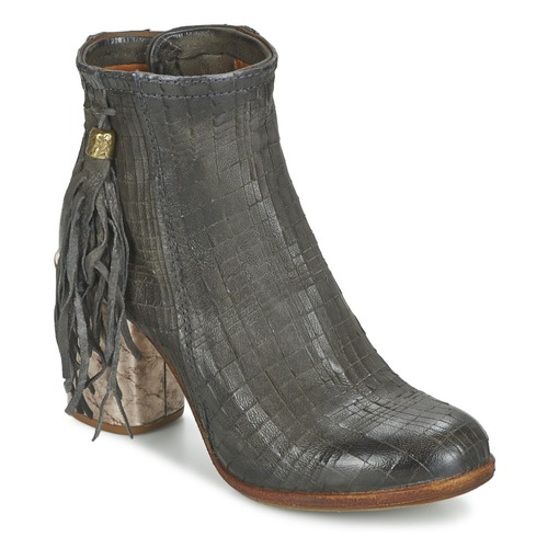 Shoes Women Ankle boots Airstep / A.S.98 ODELL Black / Smoke