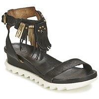Shoes Women Sandals Airstep / A.S.98 FLOOD Black