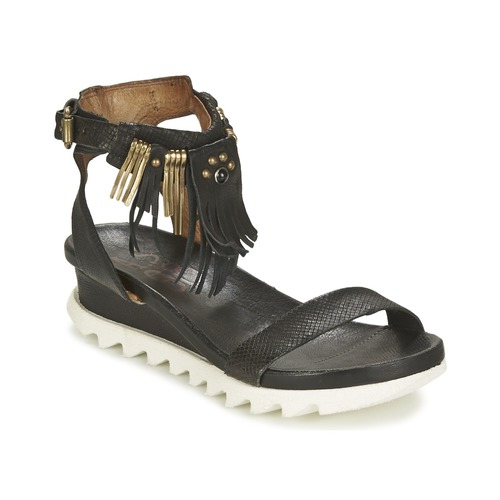 Shoes Women Sandals Airstep / A.S.98 FLOOD Black