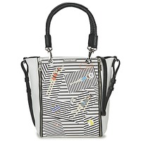 Bags Women Small shoulder bags Barbara Rihl SARAH IN BONIFACIO ZIPPER MED White