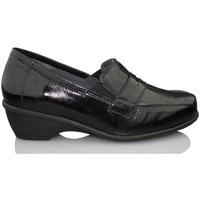 Shoes Women Loafers Dtorres GHENT  MOCASIN THERAPEUTIC MODEL BLACK